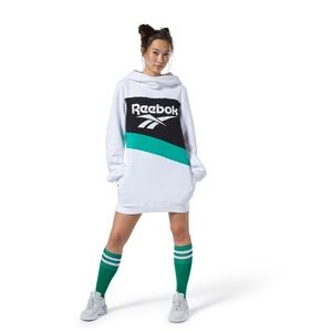 Reebok Classics hooded sweater dress